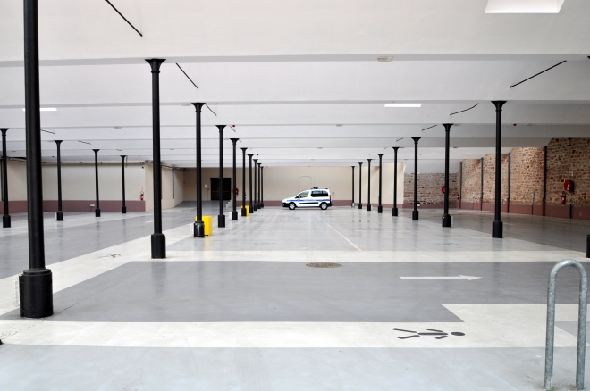 marché couvert parking Soultz